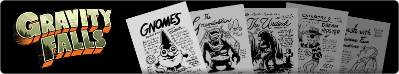Gravity Falls pages
