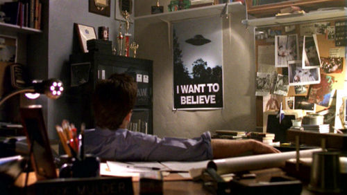 I want to believe reference